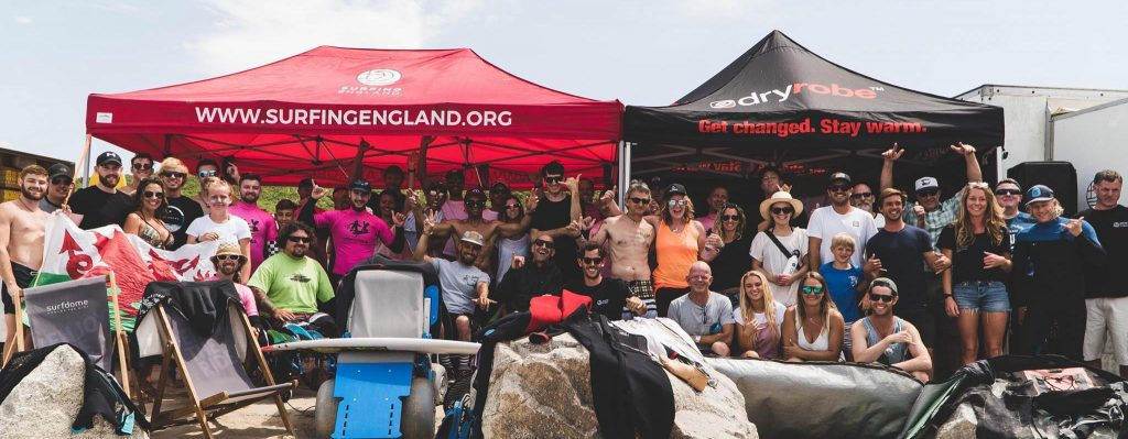 Join our Adaptive surfing community