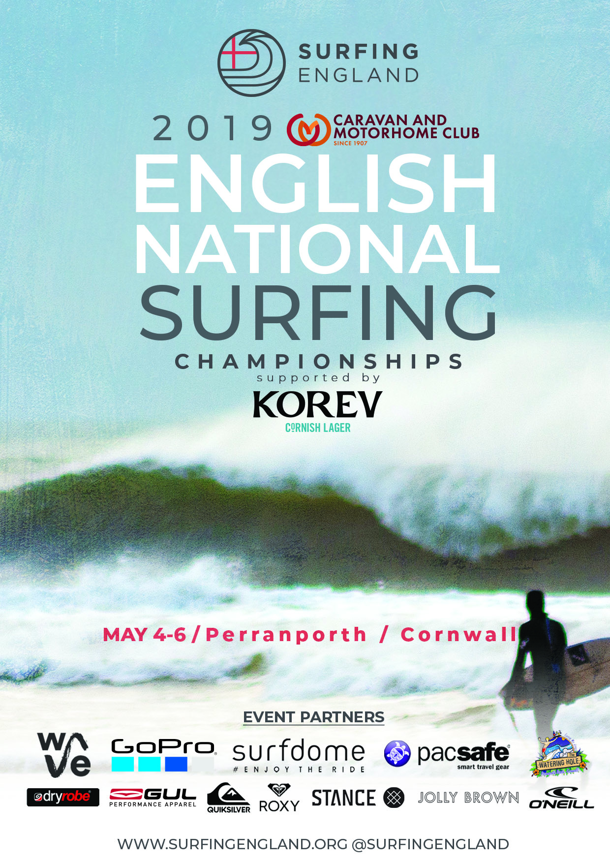 2019 english national surfing championships