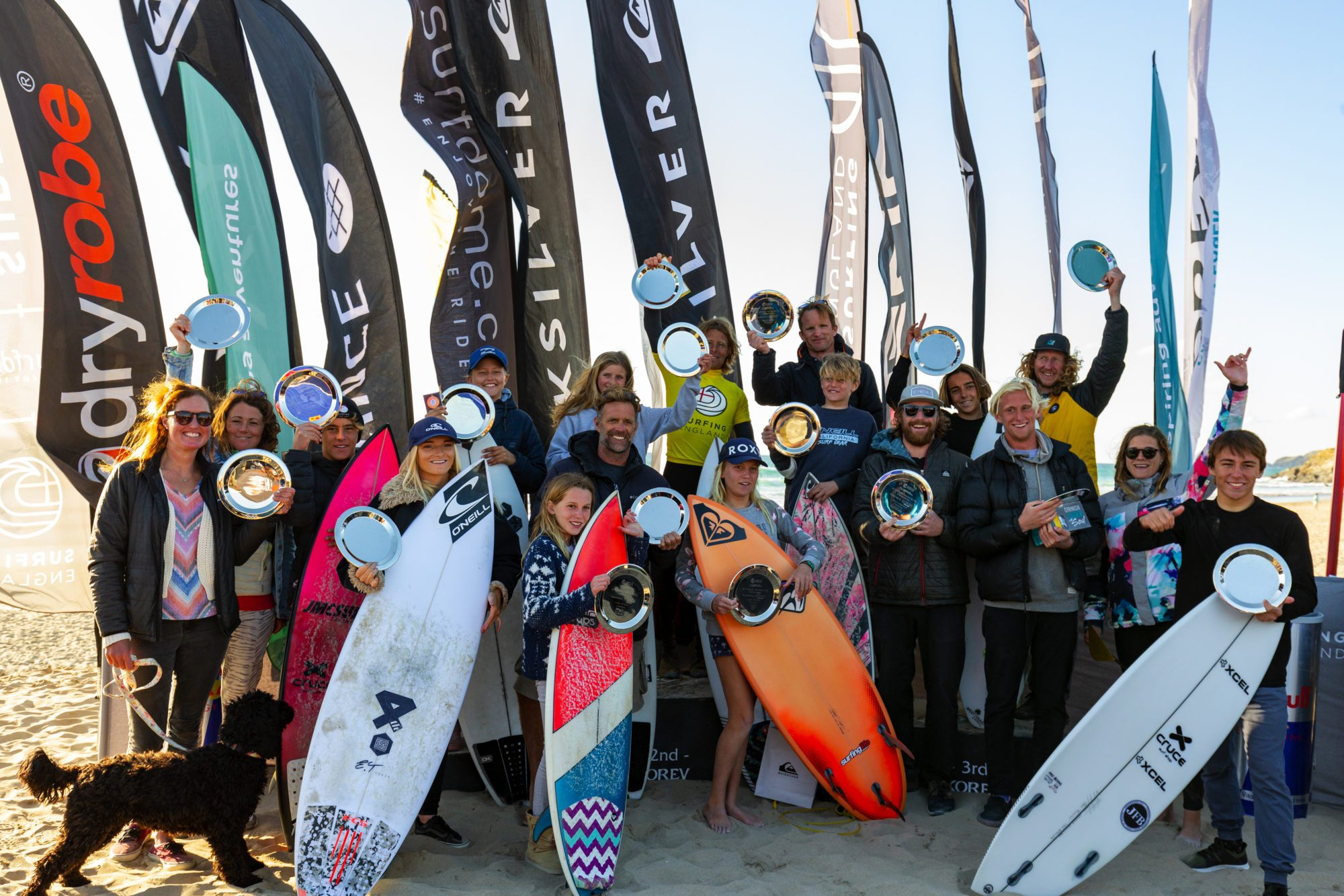 2019 English Surf Champions