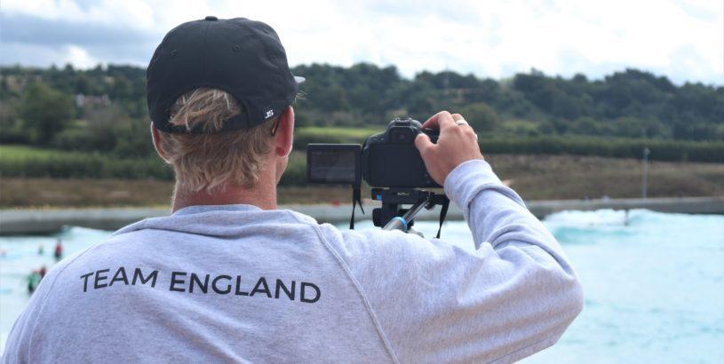 Team England Videographer