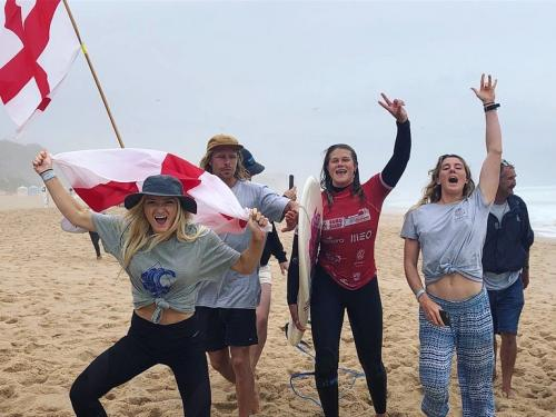EuroSurf 2019 - Emily Currie progressing to the Womens Final