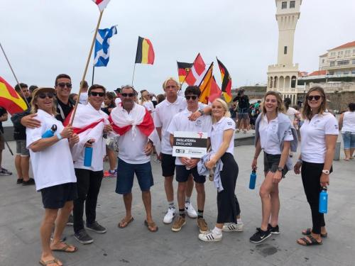 EuroSurf 2019 - Team England at the Opening Ceremony