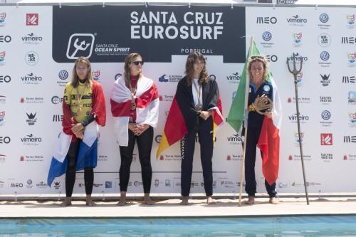EuroSurf 2019 - Womens Longboard Finalists