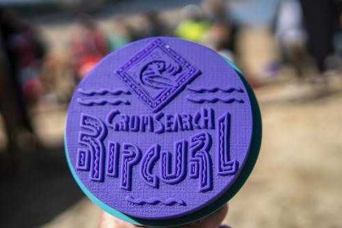 The coveted Grom Search winners trophy
