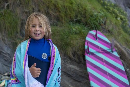 Grom came from all over the UK including youngest competitor Summer Marie Moore from Wales