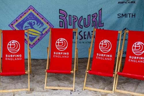 Rip Curl again joined forces with Surfing England to put on the Grom Search in Cornwall