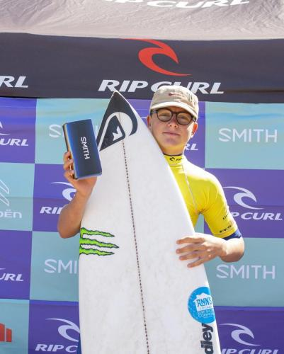 Smith Optics Move of the Event winner Stanley Norman
